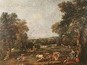 ZUCCARELLI  Francesco Bull-Hunting oil painting picture wholesale