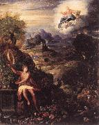 ZUCCHI  Jacopo Allegory of the Creation oil painting