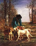 constant troyon gamekeeper oil painting picture wholesale