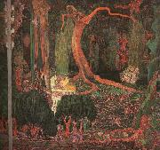 Jan Toorop Desire and Gratification(The Appeasing) oil painting