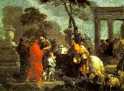 Bourdon, Sebastien The Selling of Joseph into Slavery oil painting