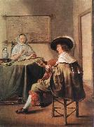 MOLENAER, Jan Miense The Music-Makers ag oil painting artist