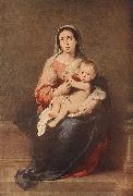 MURILLO, Bartolome Esteban Madonna and Child eryt4 oil painting picture wholesale
