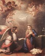 MURILLO, Bartolome Esteban Annunciation shyu oil