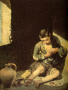 MURILLO, Bartolome Esteban The Young Beggar sg oil