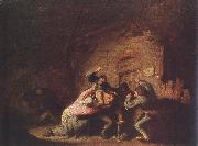 OSTADE, Adriaen Jansz. van Brawl agf oil painting picture wholesale