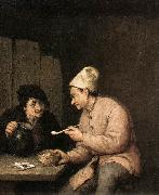 OSTADE, Adriaen Jansz. van Piping and Drinking in the Tavern ag oil painting picture wholesale