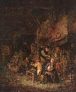 OSTADE, Adriaen Jansz. van Interior with a Peasant Family sg oil painting picture wholesale