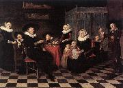 PALAMEDESZ, Antonie Family Portrait ga oil painting picture wholesale