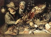 PASSEROTTI, Bartolomeo The Fishmonger's Shop agf oil painting picture wholesale