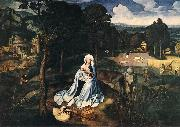 PATENIER, Joachim Rest during the Flight to Egypt af oil painting picture wholesale