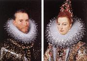 POURBUS, Frans the Younger Archdukes Albert and Isabella khnk oil painting picture wholesale