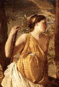 POUSSIN, Nicolas The Inspiration of the Poet (detail) af oil painting picture wholesale