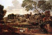 POUSSIN, Nicolas Landscape with the Funeral of Phocion af oil painting picture wholesale