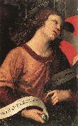 RAFFAELLO Sanzio Angel (fragment of the Baronci Altarpiece) dg oil painting artist
