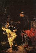 REMBRANDT Harmenszoon van Rijn Susanna and the Elders (detail) oil painting picture wholesale