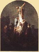 REMBRANDT Harmenszoon van Rijn Deposition from the Cross fgu oil painting picture wholesale
