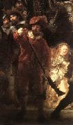 REMBRANDT Harmenszoon van Rijn The Nightwatch (detail) oil painting picture wholesale