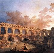 ROBERT, Hubert The Pont du Gard AF oil painting picture wholesale