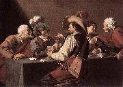 ROMBOUTS, Theodor The Card Players dh oil painting picture wholesale