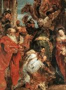 RUBENS, Pieter Pauwel The Adoration of the Magi (detail) f oil painting picture wholesale
