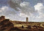 RUYSDAEL, Salomon van View of Egmond aan Zee f oil painting picture wholesale