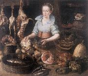 RYCK, Pieter Cornelisz van The Kitchen Maid AF France oil painting reproduction