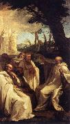 SACCHI, Andrea The Vision of St Romuald af oil painting picture wholesale