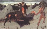 SASSETTA St Anthony the Hermit Tortured by the Devils fq oil painting artist