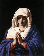 SASSOFERRATO The Virgin in Prayer a oil painting artist