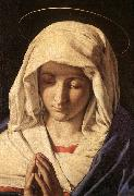 SASSOFERRATO Madonna in Prayer sr oil painting artist