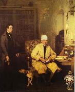 Sir David Wilkie The Letter of Introduction oil painting picture wholesale