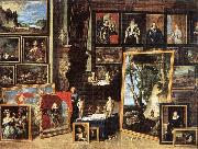 TENIERS, David the Younger The Gallery of Archduke Leopold in Brussels xgh oil painting picture wholesale