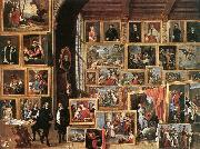 TENIERS, David the Younger The Gallery of Archduke Leopold in Brussels oil painting picture wholesale