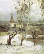 Alexei Savrasov The Rooks Have Returned oil painting