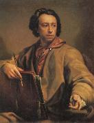 Anton Raffael Mengs Self Portrait oil painting
