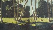 Arkhip Kuinji The Birch Grove oil painting artist