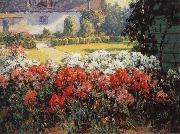 Benjamin C.Brown The Joyous Garden-n-d oil painting