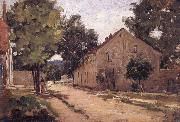 Camille Pissarro Road to Port-Marly Route de Port-Marly oil painting picture wholesale
