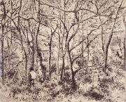 Camille Pissarro Wooded landscape at L-Hermitage,Pontoise oil painting picture wholesale