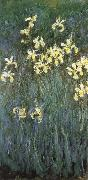Claude Monet Yellow Irises oil painting reproduction