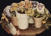 Grant Wood Cultivation of Flower oil painting picture wholesale