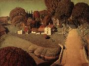 Grant Wood Hoover-s Birthplace oil painting picture wholesale