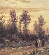 Ivan Shishkin Evening oil painting picture wholesale