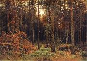 Ivan Shishkin Pine tree oil painting picture wholesale
