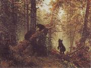 Ivan Shishkin Morning in a Pine Forestf oil painting picture wholesale
