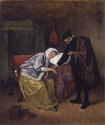 Jan Steen The Sick woman oil painting picture wholesale