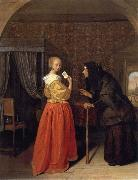Jan Steen Bathsheba Receiving David-s Letter oil painting picture wholesale