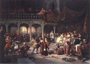 Jan Steen The Wedding at Cana oil painting picture wholesale