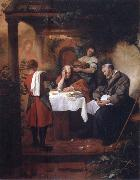Jan Steen Supper at Emmaus oil painting picture wholesale